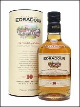 Edradour Single Malt Whisky 10 y 70 cl