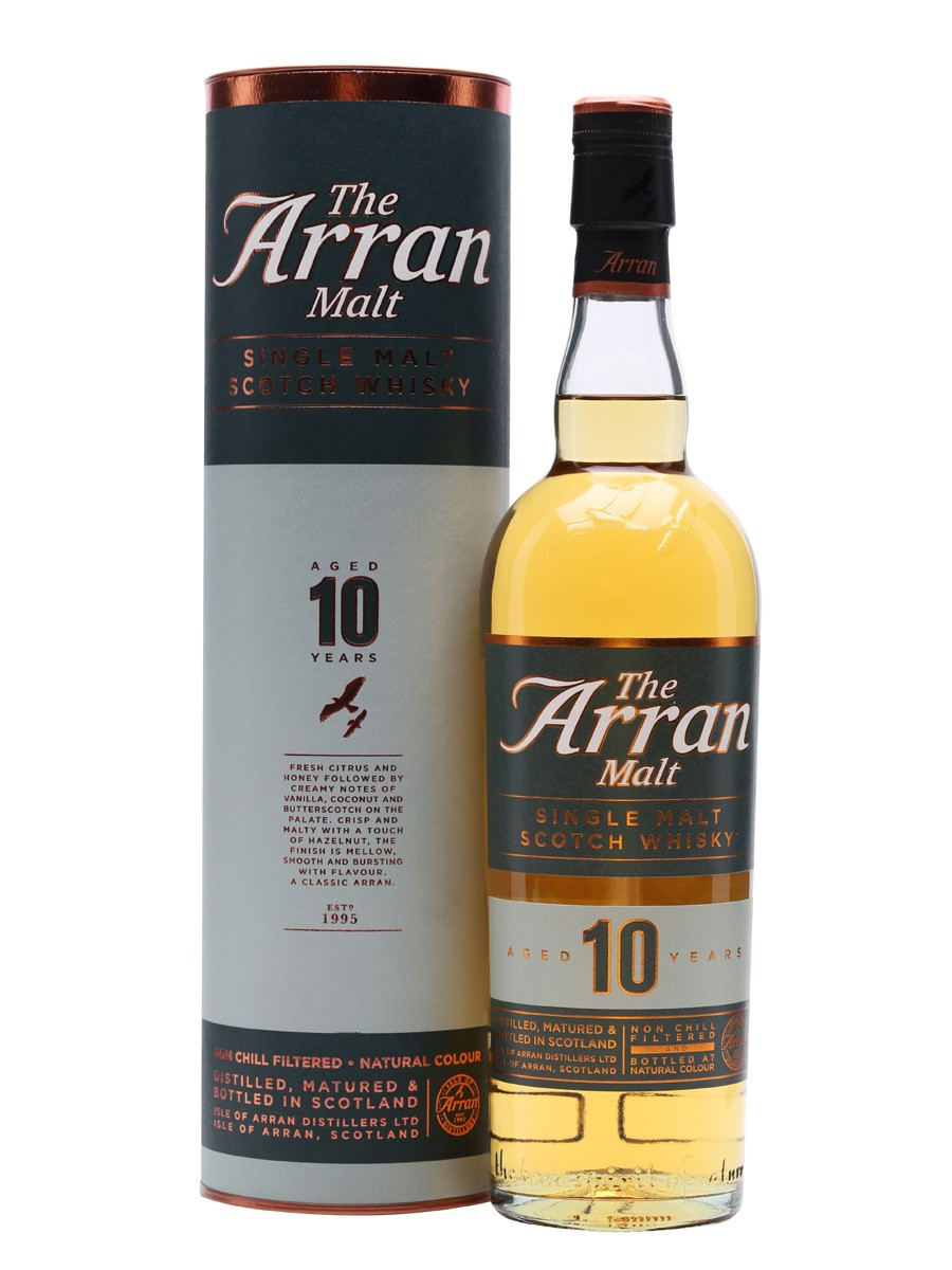 The Arran 10y Single Malt Schotch Whisky