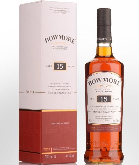 Bowmore Islay Single Malt Whisky 15y