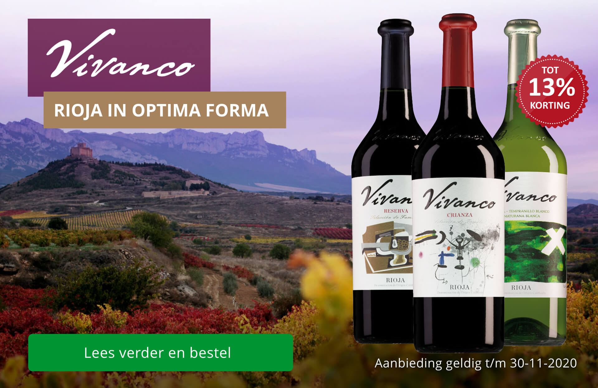 Vivanco: Rioja in optima forma