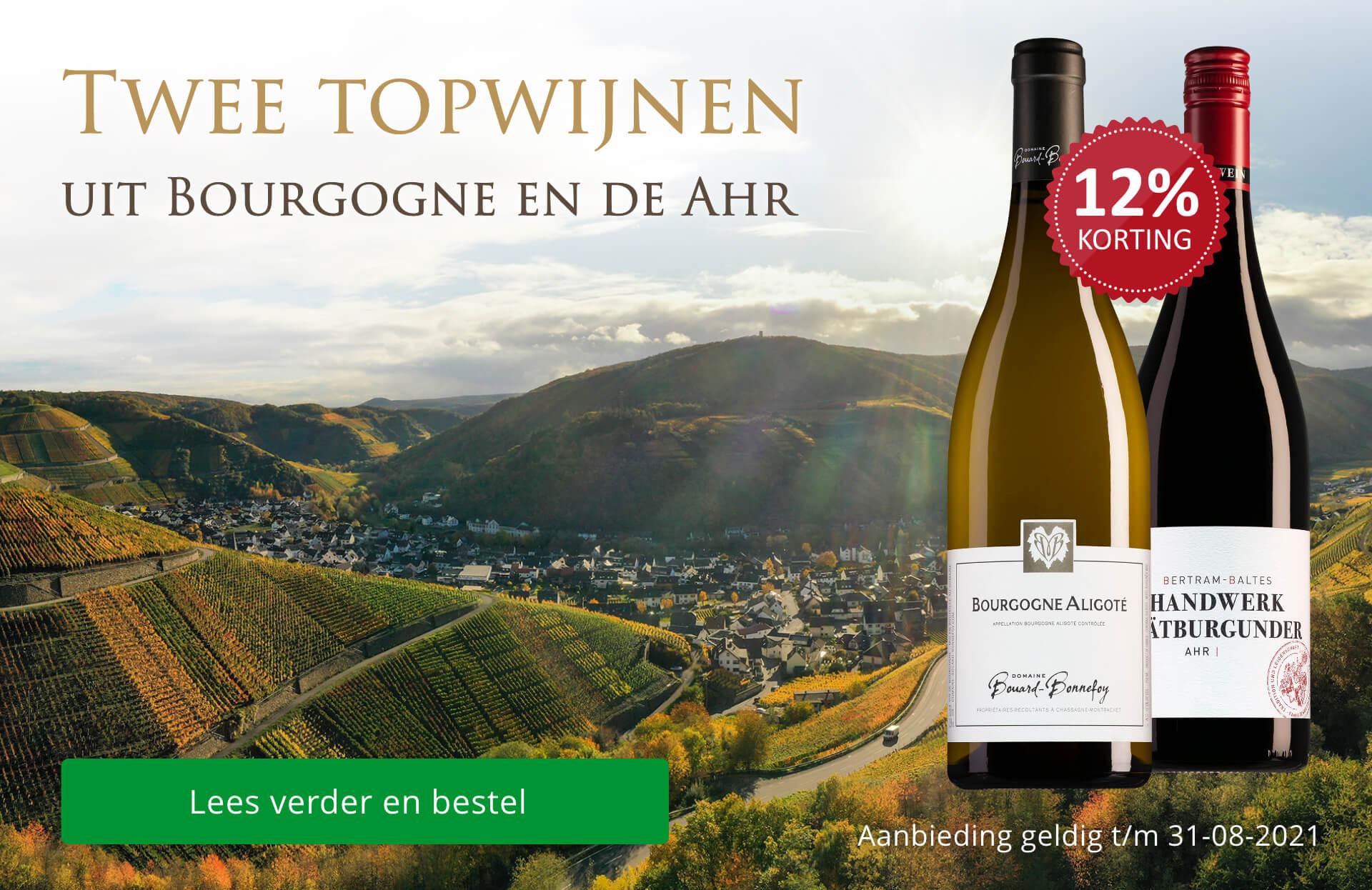 Twee topwijnen uit Bourgogne en de Ahr