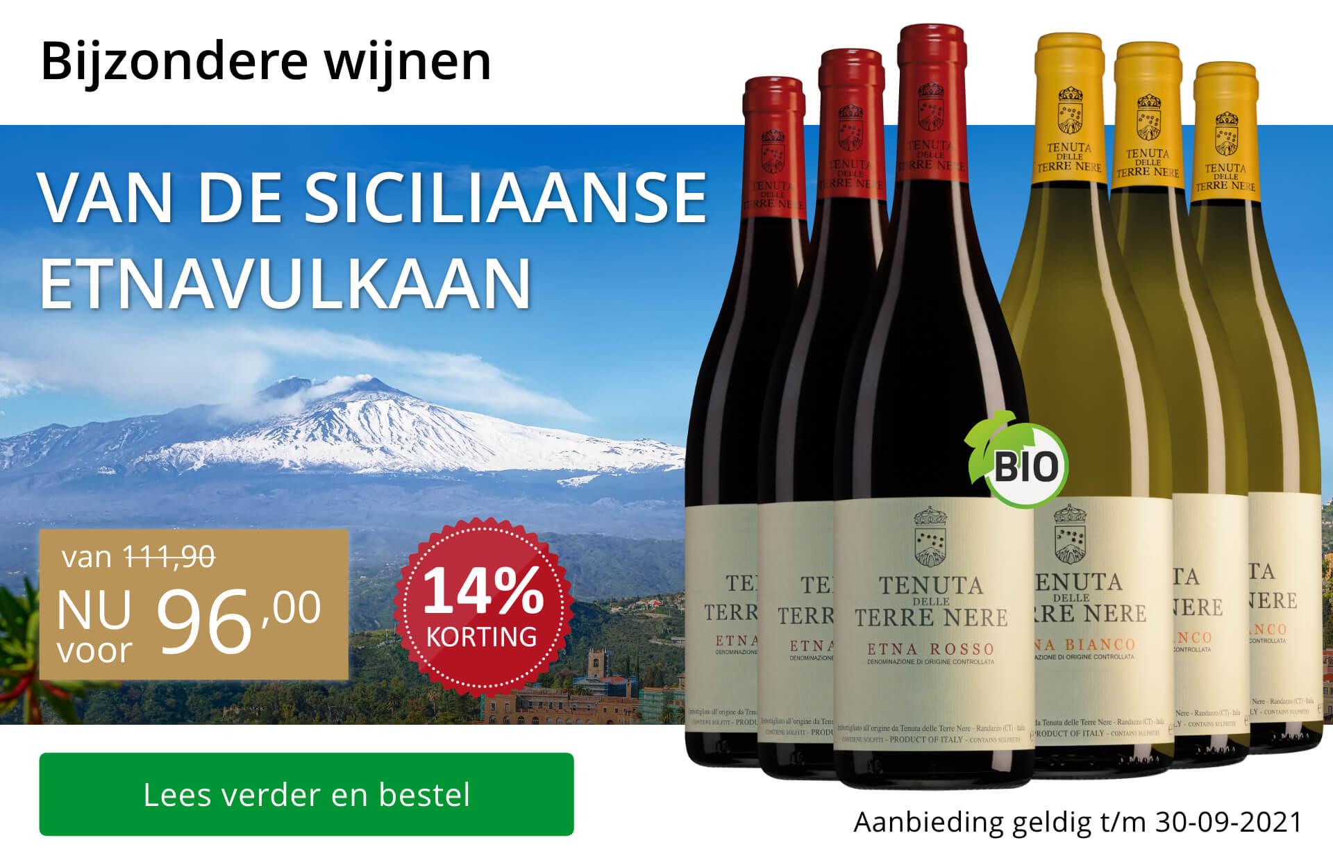 Wijnpakket bijzondere wijnen september 2021-goud/zwart