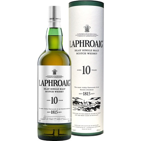 Laphroaig Single Malt Whisky 10 y 70 cl